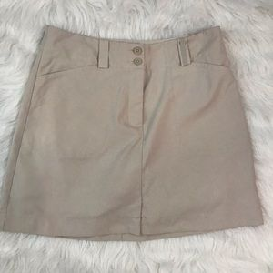Women's Nike Gold Skirt Fit Dry